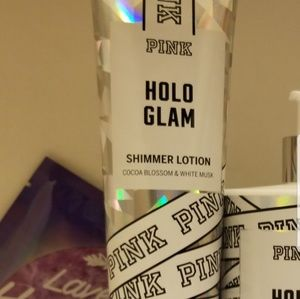 VS PINK Holo Glam Shimmer lotion